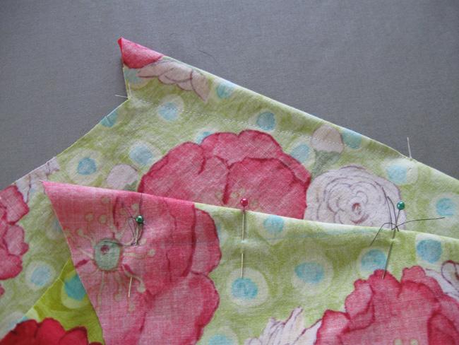 Marcar y coser los dardos
