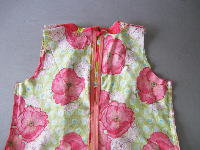 coser costuras laterales