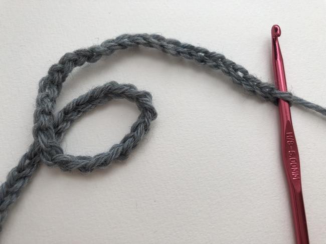 cadena de ganchillo