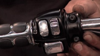 motorcycle handlebar chrome switch caps