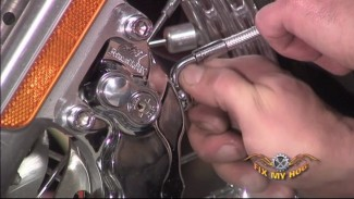 HHI Caliper Install on a Harley Davidson