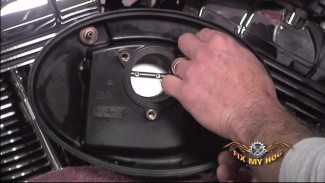 Upgrade the air cleaner on your Harley-Davidson