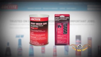 Loctite Epoxy Mixer Cups and Fairing Repair