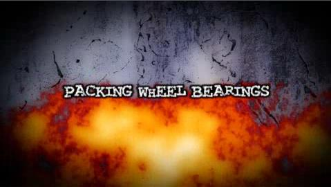 How to Pack Wheel Bearings on a Motorcycle