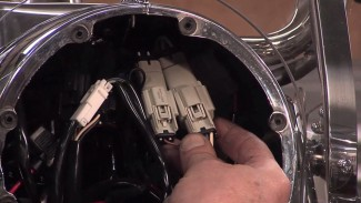 Molex Connector on Harley