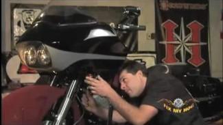 Harley Davidson Fairing Removal