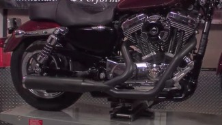 Installing a Cobra exhaust system on a Harley Sportster Part 3