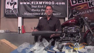 Harley Exhaust - Cobra PowerPro HP 2-into-1