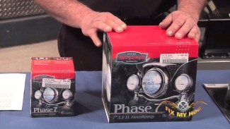 Harley LED Headlight, Passing Lamps and Halo Review