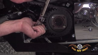 Custom Harley-Davidson Exhaust Installation Part 2