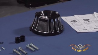Overview of the Arlen Ness Black Deep Cut Air Cleaner Kit - Dennis Kirk