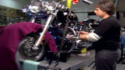 HER0 Y3001R Softail & Dyna Maintenance DVDs Part 1 & 2