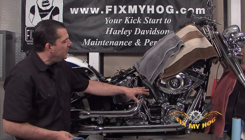 harley-davidson softail rear belt replacement - fix my hog