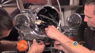 Road King Nacelle, Headlamp, and Passing Lamp Assembly