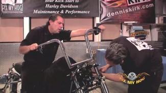 Installing Harley Ape Hangers