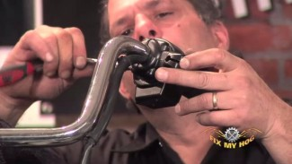 Harley Clutch Cable and Handlebar Removal