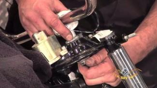Handlebar Controls, Master Cylinder and Brake Line Removal
