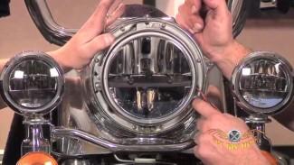 Harley Handlebars Removal - Lights & Nacelle