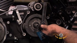 Harley Davidson Drive Belt Replacement on a Touring model