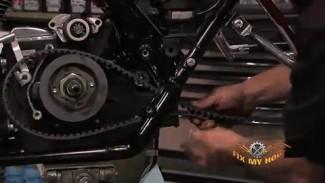 Harley Davidson Belt Removal on a Touring Model