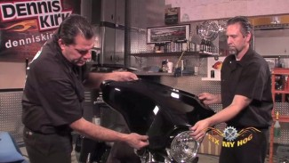 Harley Fairing Bracket Removal For Replacement