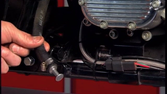 Harley tranny oil change