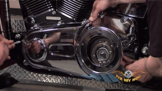 Harley Softail Belt Installation - Part 3 of 3
