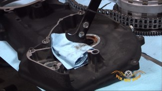 Harley Softail Belt Installation - Part 2 of 3