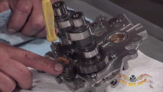 Cam Chain Tensioner Shoes, Cams and Cam Bearings Removal