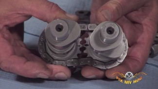 Harley-Davidson Hydraulic Cam Support Plate installation - Cams, Rear Cam Chain, Rear Cam Chain Tensioner
