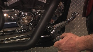 Sportster Forward Controls, Brake Lever Removal & Upgrade