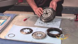 Sportster Clutch Spring, Pressure, Steel, and Friction Plate Removal