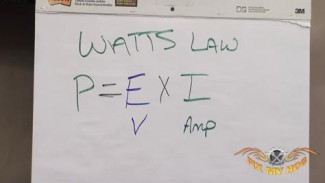 Motorcycle Electrical Repair & Watt's Law