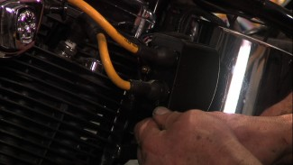 Harley Coil Wire Plug Protection