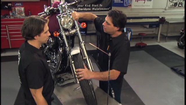 Harley Fall Away Adjustment & Steering Head Bearings Lube