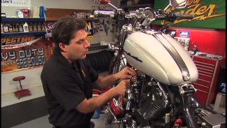 Harley Sportster spark plugs replacement