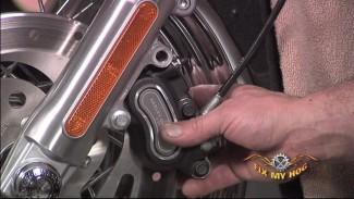 Updated Caliper, Harley Davidson Brakes Service (Front)
