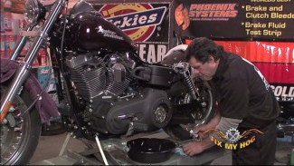 Harley Primary Oil & Fluid Change