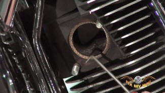 Clutch Cable Installation / Exhaust Removal