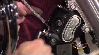 Install Braided Brake Lines on a Harley-Davidson