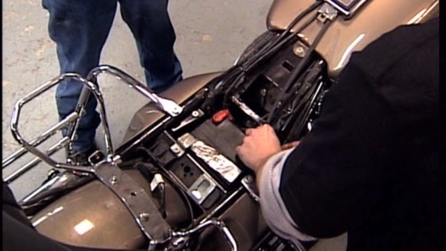 HD Motorcycle Battery Test Pre-Service