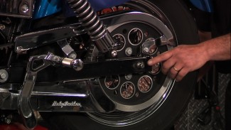 Harley Rear Tire, Drive Pulley and Inner Race Removal