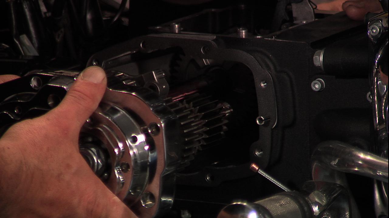 JIMS Harley Transmission Installl