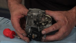 Stock Harley Carburetor Tear Down