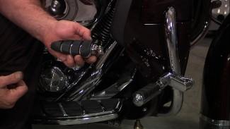 Harley Highway Pegs Install