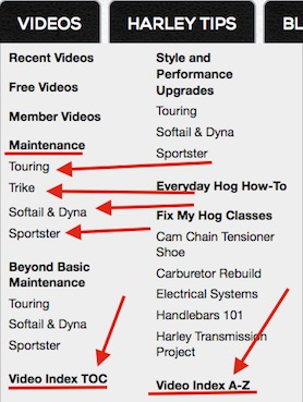 Harley_Videos how to use the fix my hog website fix my hog