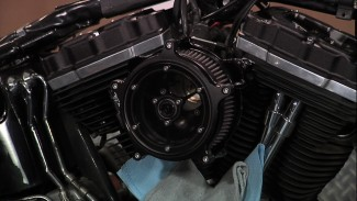 Harley Davidson Air Intake Install with Roland Sands
