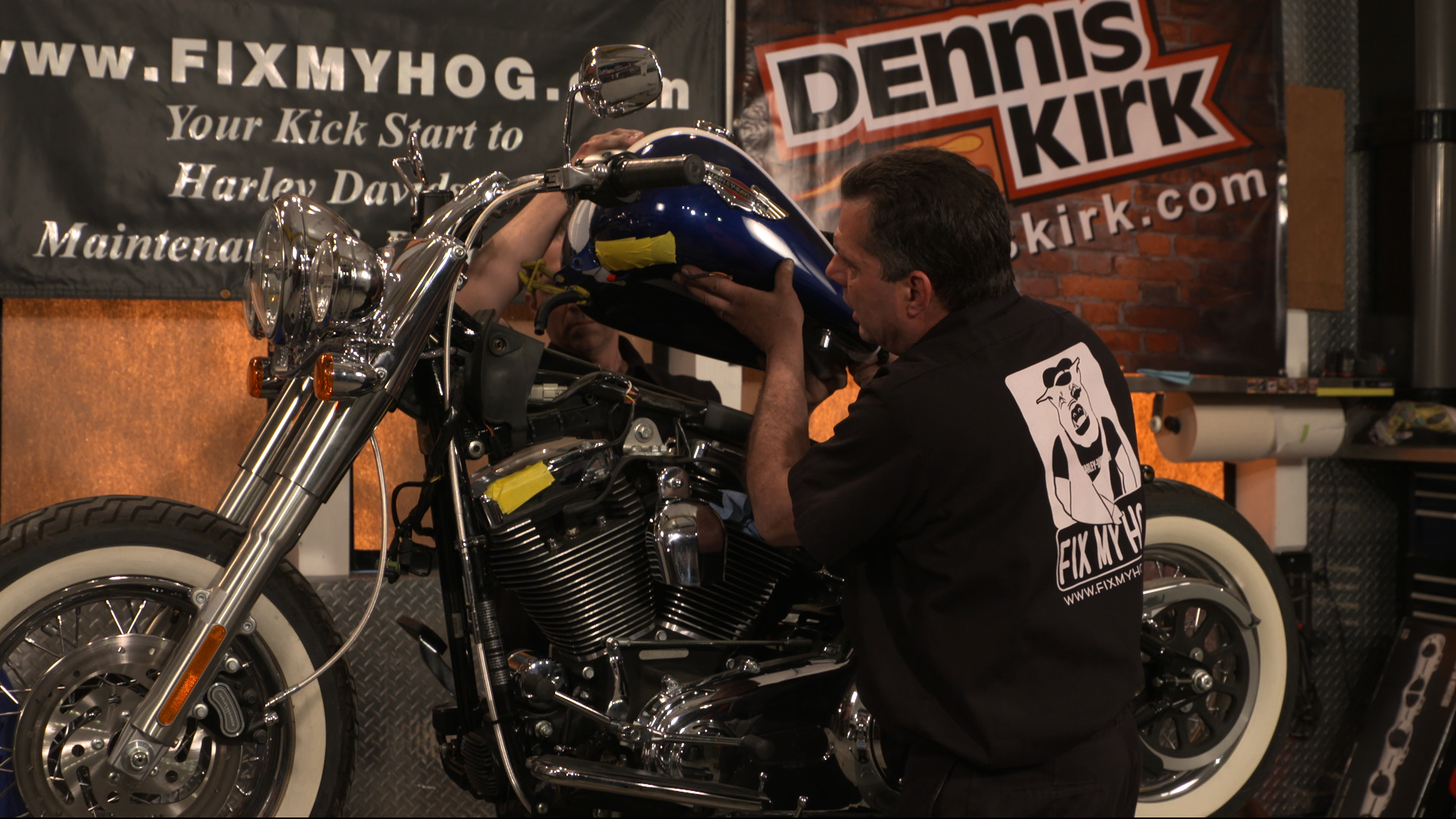Harley Davidson Fuel Tank Removal Fix My Hog