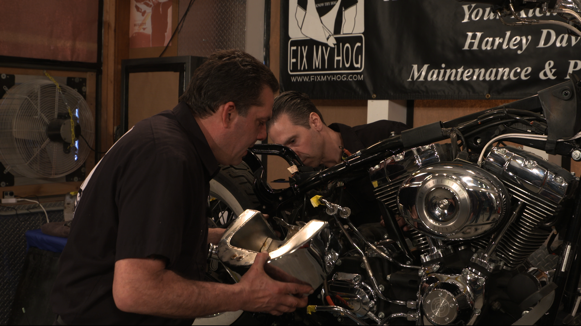 How To Remove A Twin Cam Harley Oil Tank Fix My Hog Piping Diagram Tanks