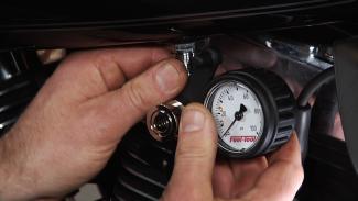 Harley Fuel Pressure Tester